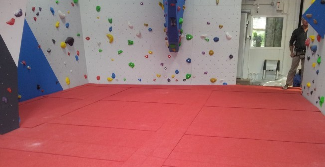 Climbing Wall Matting in Abberley